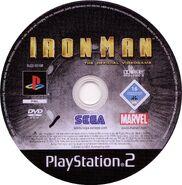 Iron Man PS2 EU Disc