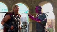 Thor and Vision (Behind the Scenes - The Making of Avengers AoU)