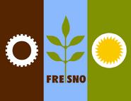 Flag of Fresno
