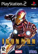 IronMan PS2 Aust cover