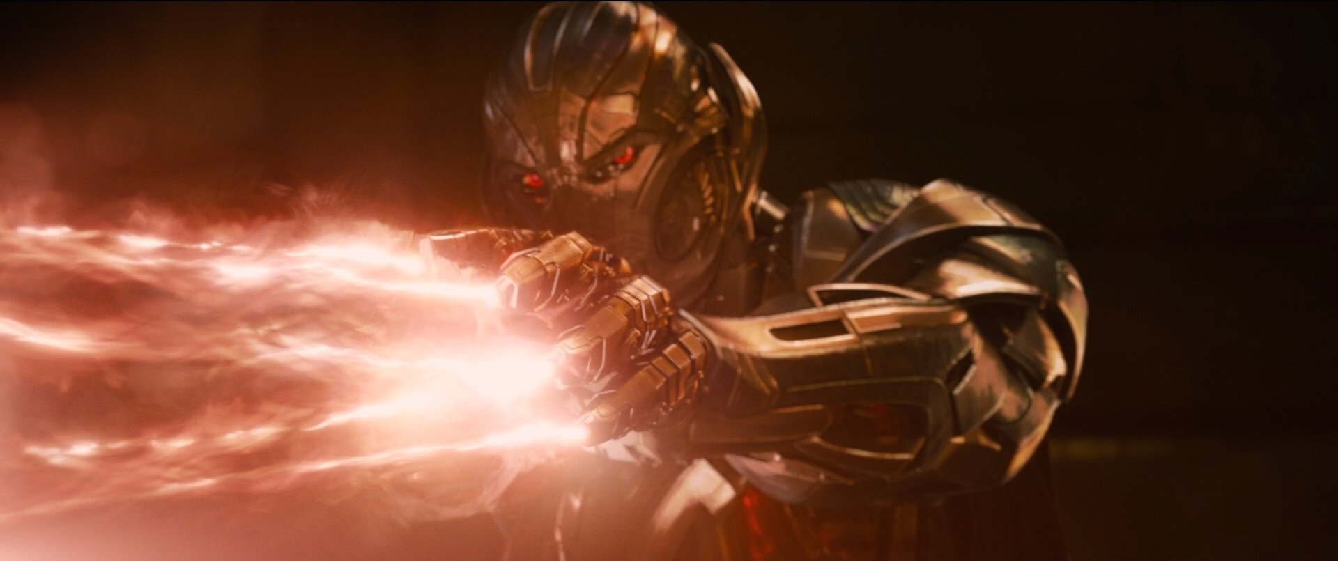 Ultron Fires His Concussion