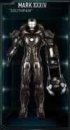 IM Armor Mark XXXIV