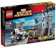 LEGO HYDRA Fortress smash