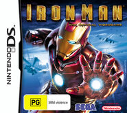 IronMan DS AU cover