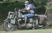 Captain America behind the scenes 12