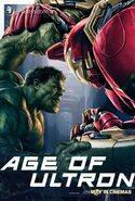 Avengers Age Of Ultron Unpublished Character Poster k JPosters