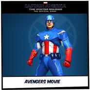 Avengers movie suit