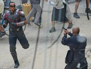 Civil War set photo 4