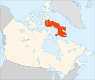 Map of Baffin Island