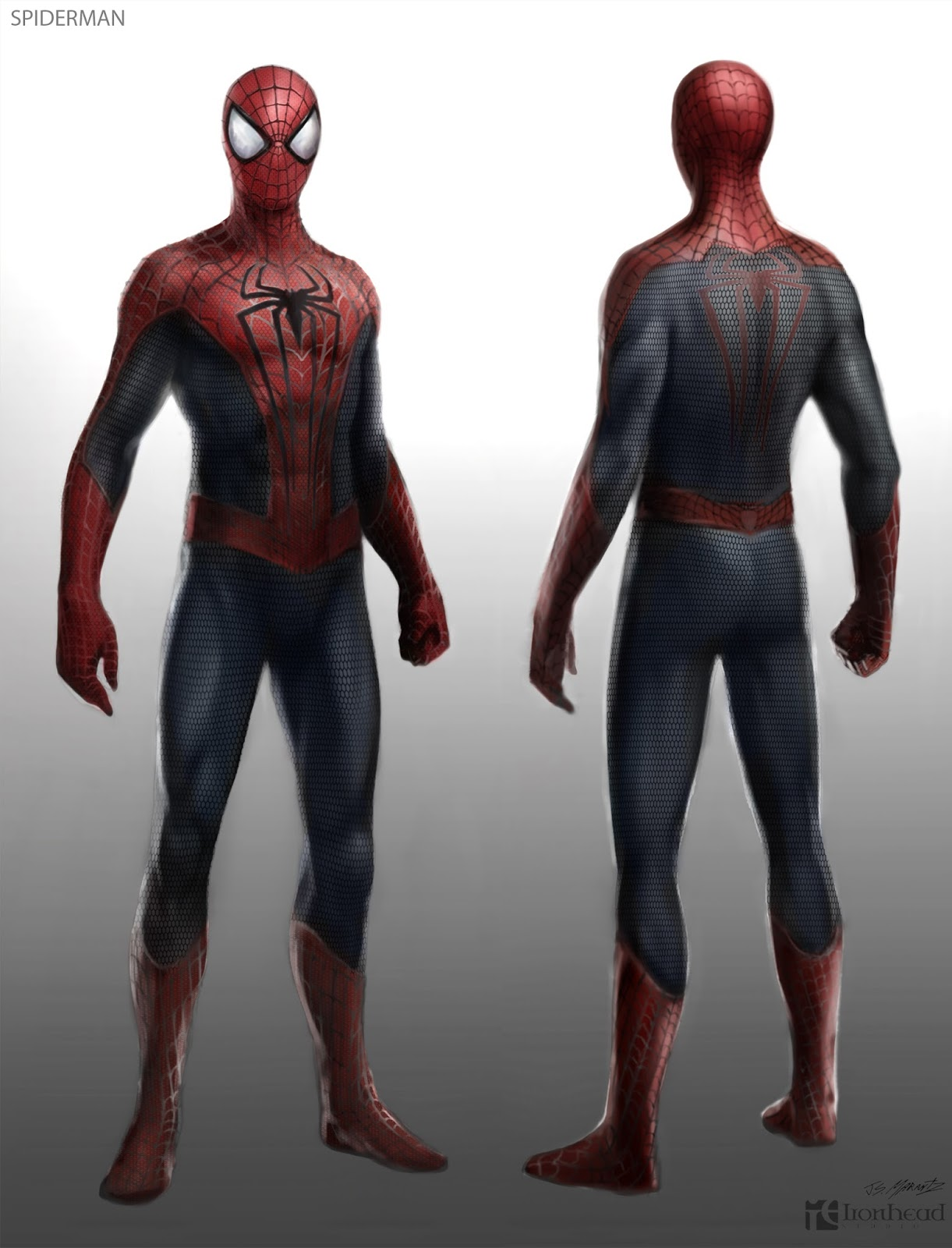 Image - Amazing Spider-Man 2 Concept Art Suit Costume 1 ...