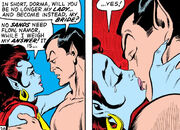 Dorma accepts Namor's proposal in Sub-Mariner Vol 1 33