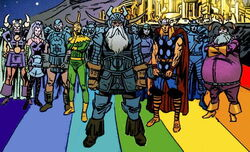 Asgardians (Earth-9997) Universe X Vol 1 4