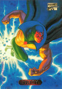 Vision (Earth-616) from Marvel Masterpieces Trading Cards 1994 0001