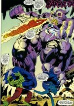 Megataur (Earth-616) from Fantastic Four Unlimited Vol 1 4 0001