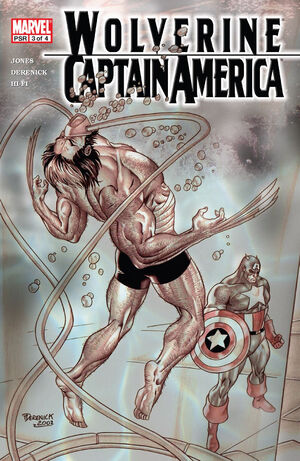 Wolverine Captain America Vol 1 3