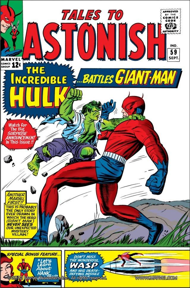 Image result for Tales to Astonish #59