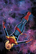 Captain Marvel Vol 8 1 Cassaday Variant Textless