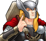 Thor Odinson (Earth-TRN562) from Marvel Avengers Academy 004