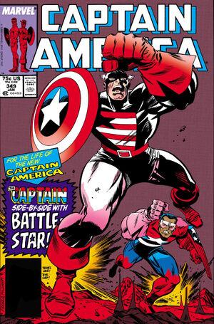 Captain America Vol 1 349