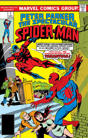 Peter Parker, The Spectacular Spider-Man Vol 1 1