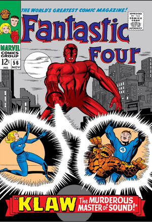 Fantastic Four Vol 1 56