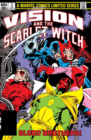 Vision and the Scarlet Witch Vol 1 3