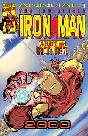 Iron Man Annual Vol 1 2000