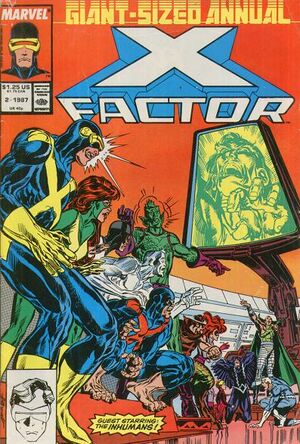 X-Factor Annual Vol 1 2