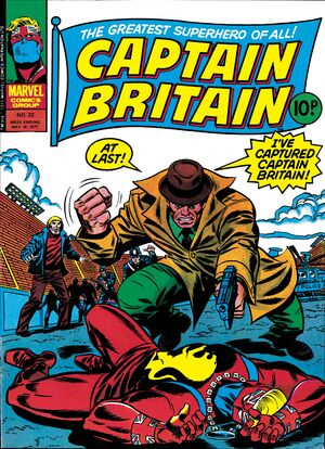 Captain Britain Vol 1 32