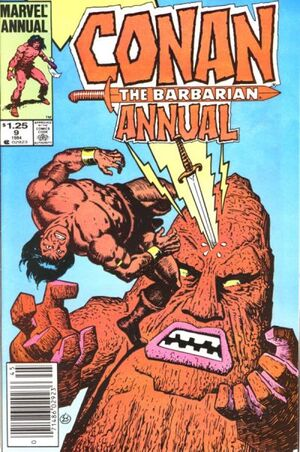 Conan the Barbarian Annual Vol 1 9