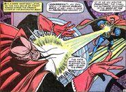 Kaluu (Earth-616) and Stephen Strange (Earth-616) from Strange Tales Vol 1 150 001
