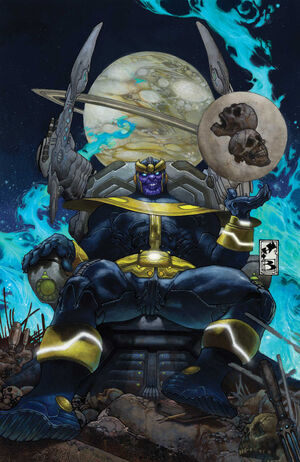 Thanos Rising Vol 1 2 Textless