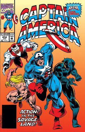 Captain America Vol 1 414