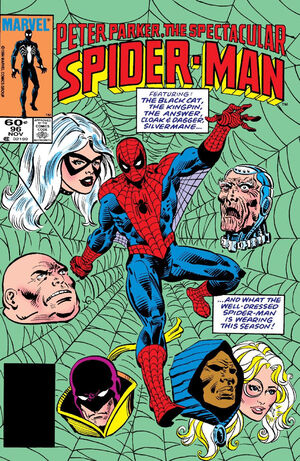 Peter Parker, The Spectacular Spider-Man Vol 1 96