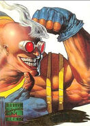 Guido Carosella (Earth-616) from Marvel Masterpieces Trading Cards 1995 Set 0001