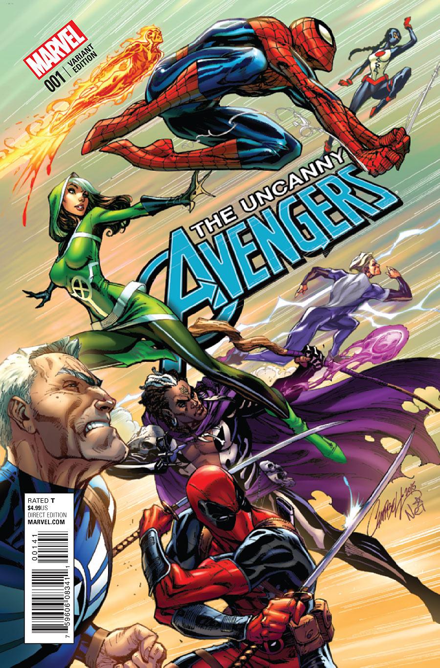 Resultado de imagen para uncanny avengers 2016