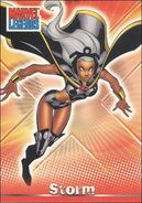 Ororo Monroe (Earth-616) from Marvel Legends (Trading Cards) 0002