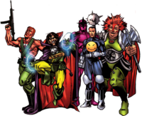 Band of the Bland (Earth-616) from All-New Official Handbook of the Marvel Universe A to Z Vol 1 1 0001