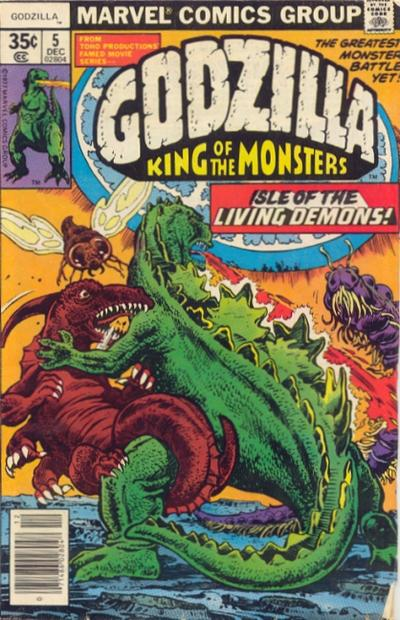 Godzilla Vol 1 5 Marvel Database Fandom Powered By Wikia