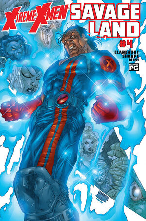 X-Treme X-Men Savage Land Vol 1 4