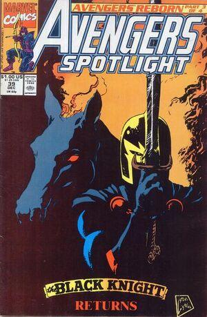 Avengers Spotlight Vol 1 39
