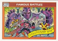 Evolutionary War (Earth-616) from Marvel Universe Cards Series I 0001