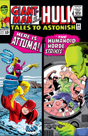 Tales to Astonish Vol 1 64