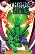 Thanos vs. Hulk Vol 1 4 Lim Variant