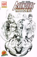Avengers Invaders Vol 1 8 Dynamic Forces Variant