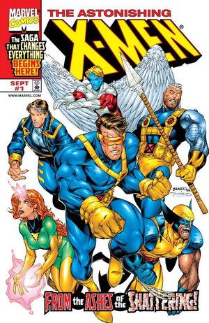 Astonishing X-Men Vol 2 1