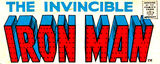 Iron Man Vol 1 Logo (Invincible Varient)