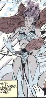Llyra Morris (Earth-9966) from Fantastic Four Unlimited Vol 1 6
