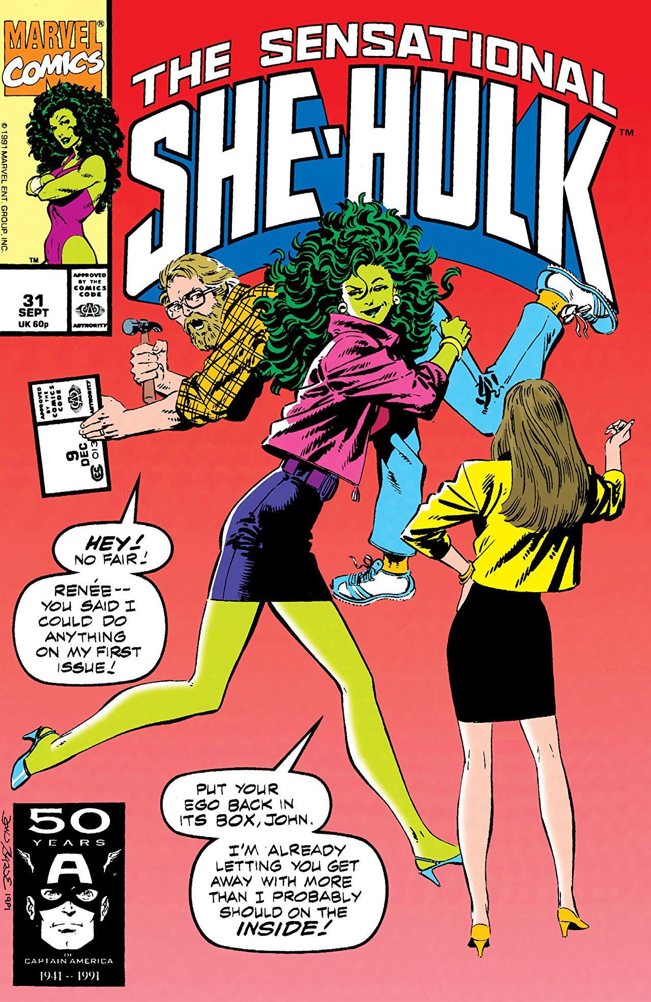 Sensational She-Hulk Vol 1 31