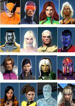 X-Men (Earth-TRN258) from Marvel Heroes (video game) 001